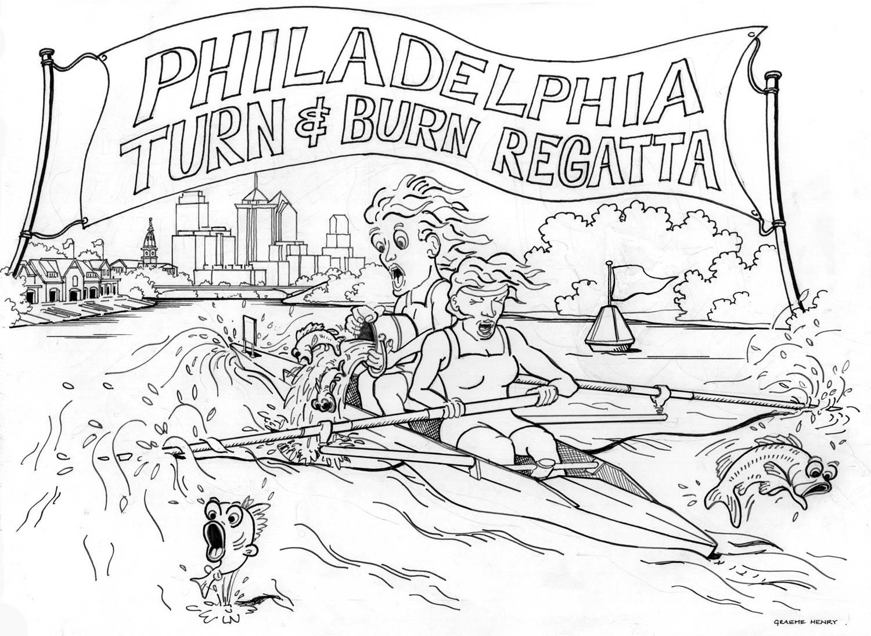 turn and burn regatta